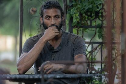 Avi Nash as Siddiq in The Walking Dead Season 10