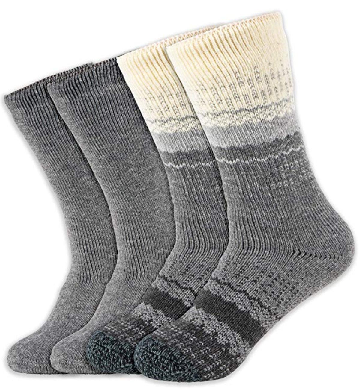 Hot Feet Heavy Thermal Sock (2 Pairs)