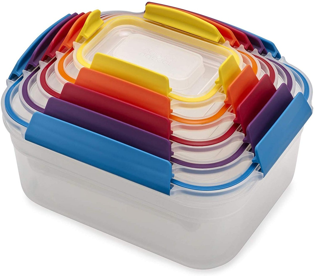 Joseph Joseph Nest Lock Plastic Storage Container Set (10 Pieces)