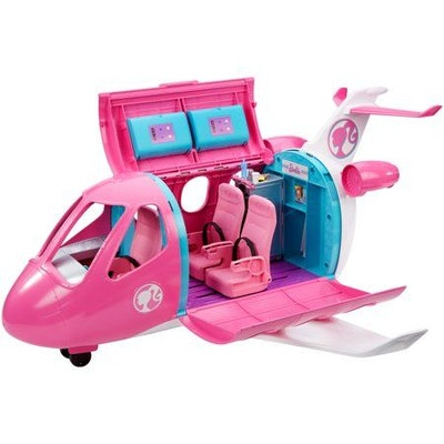 Barbie Dreamplane Playset with 15+ Themed Accessories
