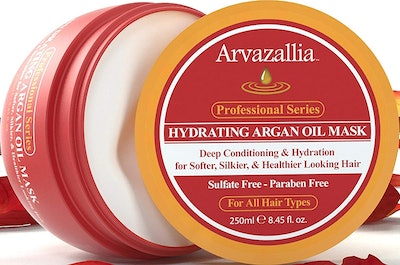 Hydrating Argan Oil Hair Mask and Deep Conditioner By Arvazallia