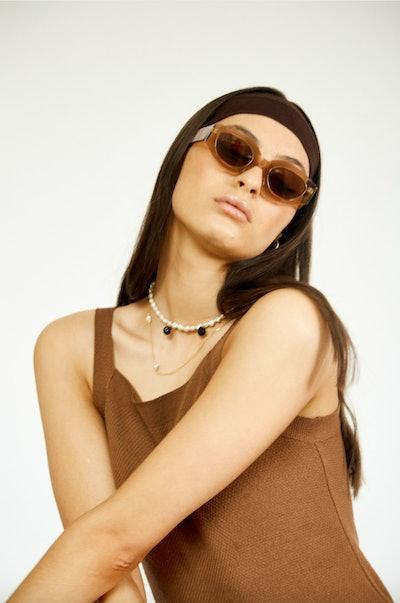 STESSO Sunglasses - Walnut