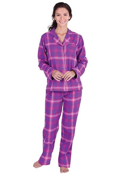 PajamaGram Flannel Pajama Set