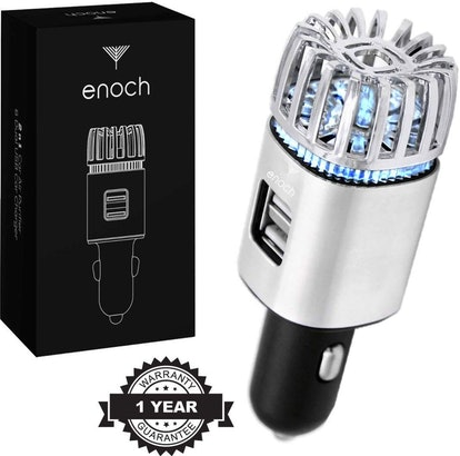 Enoch Car Air Purifier with USB Car Charger