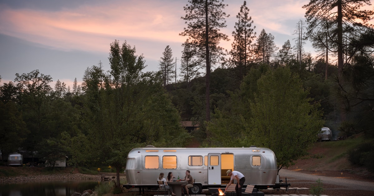 AutoCamp's Airstream Trailers Are Made For The Coolest Glamping Experience