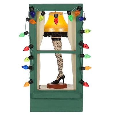A Christmas Story: Mr. Parker's Pride & Joy Leg Lamp 2019 Hallmark Keepsake Christmas Ornament with Light