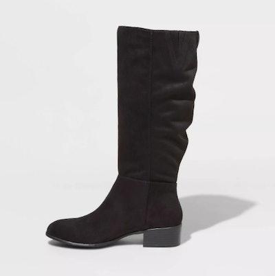 Universal Thread Hilda Microsuede Scrunch Boots