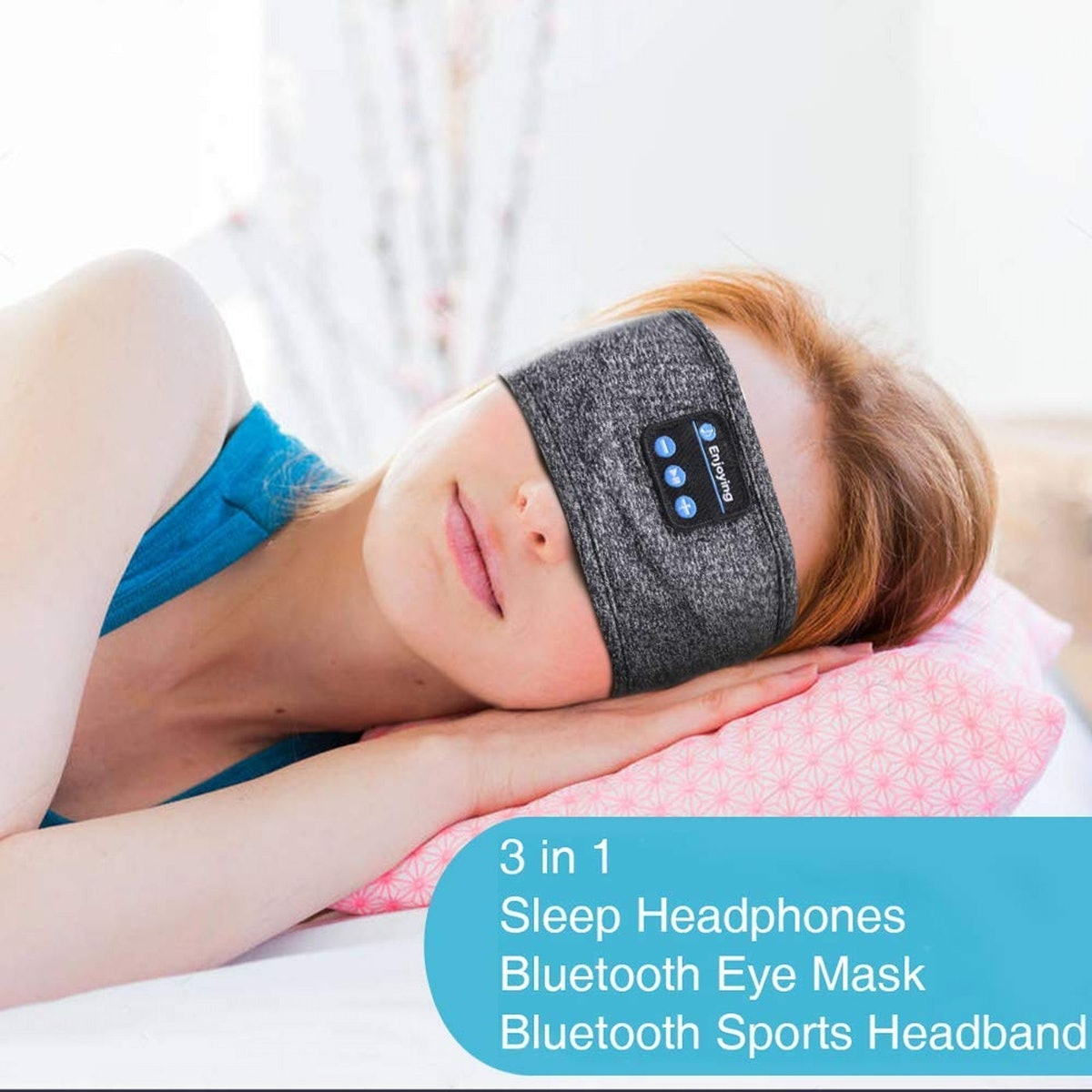 JARVANIA Bluetooth Sleep Headphones