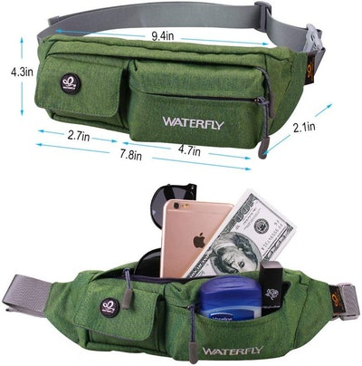 Waterfly Water-Resistant Fanny Pack