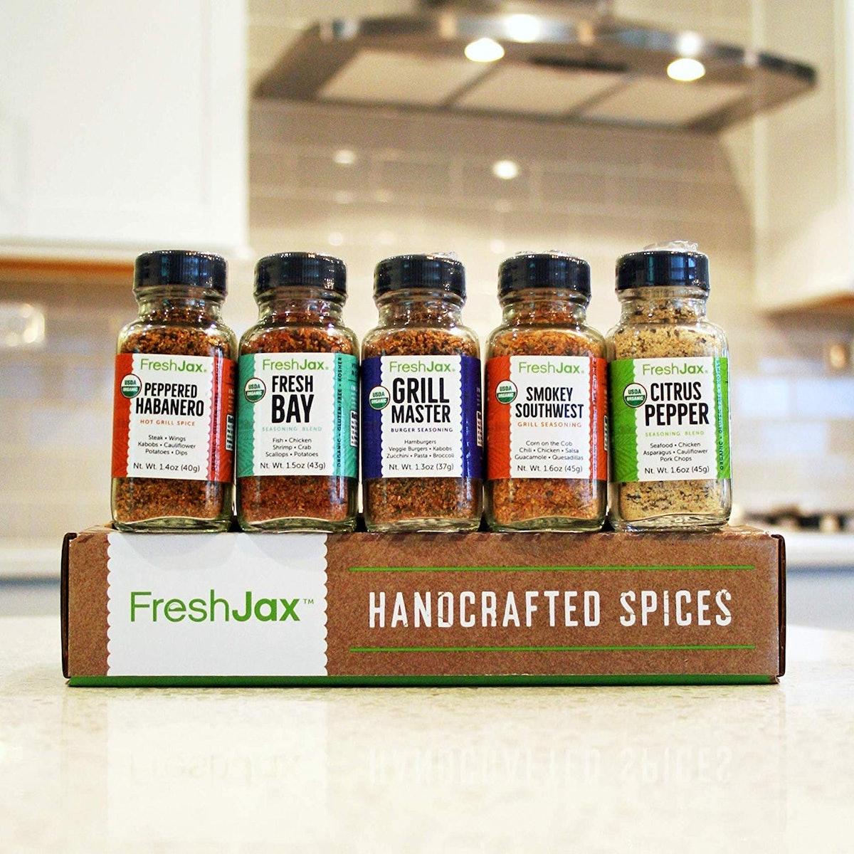 FreshJax Grilling Spice Gift Set (Set of 5)