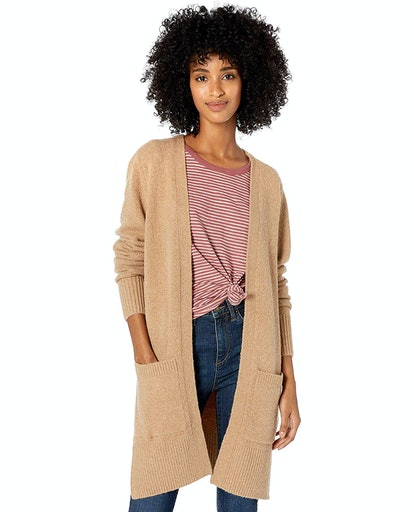Goodthreads Women's Boucle Cardigan Sweater