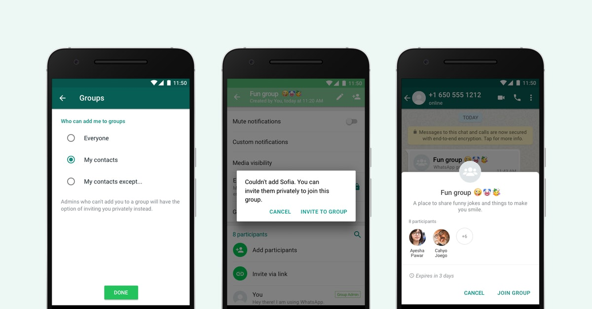This WhatsApp Group Messaging Update helps keep group messaging under control.