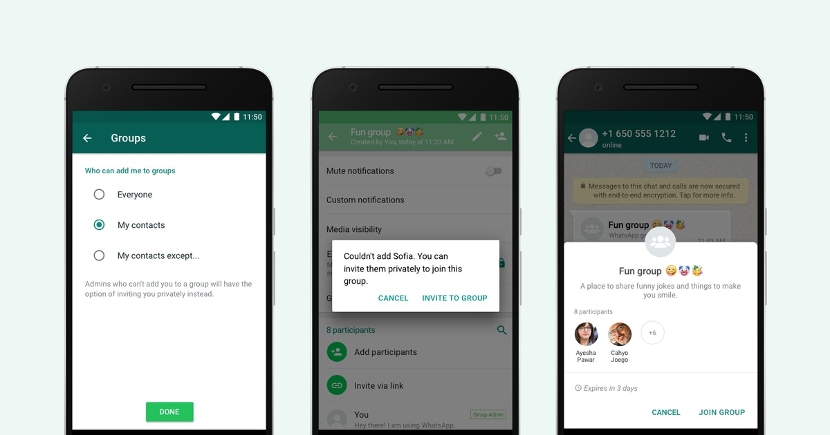 This WhatsApp Group Messaging Update Will Save You From Annoying Requests