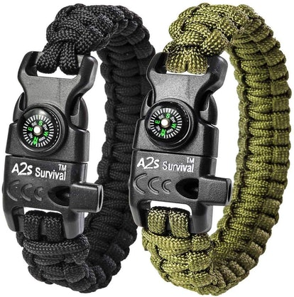 A2S Protection Paracord Bracelet