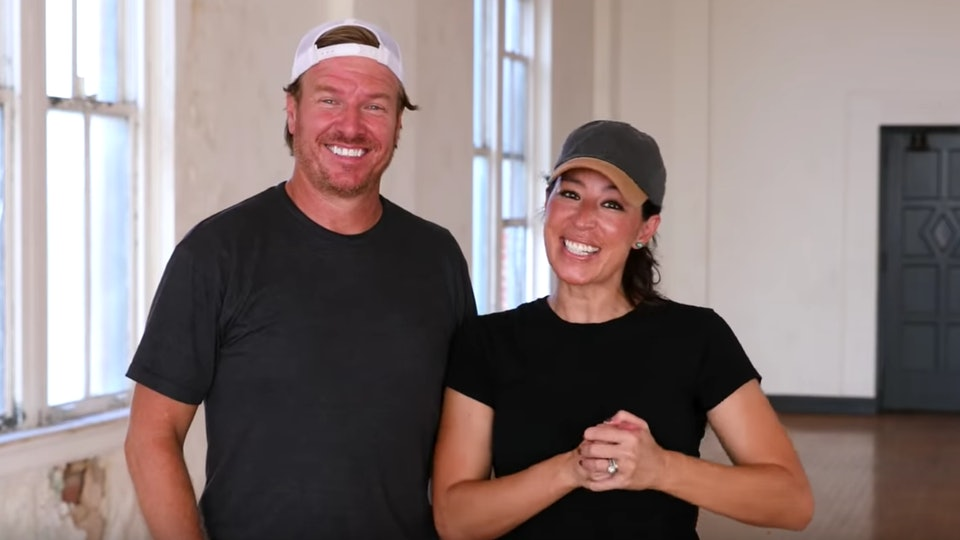 Chip and Joanna Gaines says that their youngest son, Crew, was born to be in the spotlight.