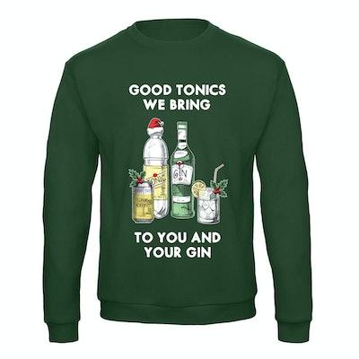 Good Tonics We Bring Christmas Jumper