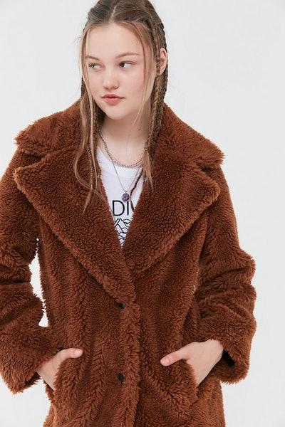 UO Teddy Overcoat