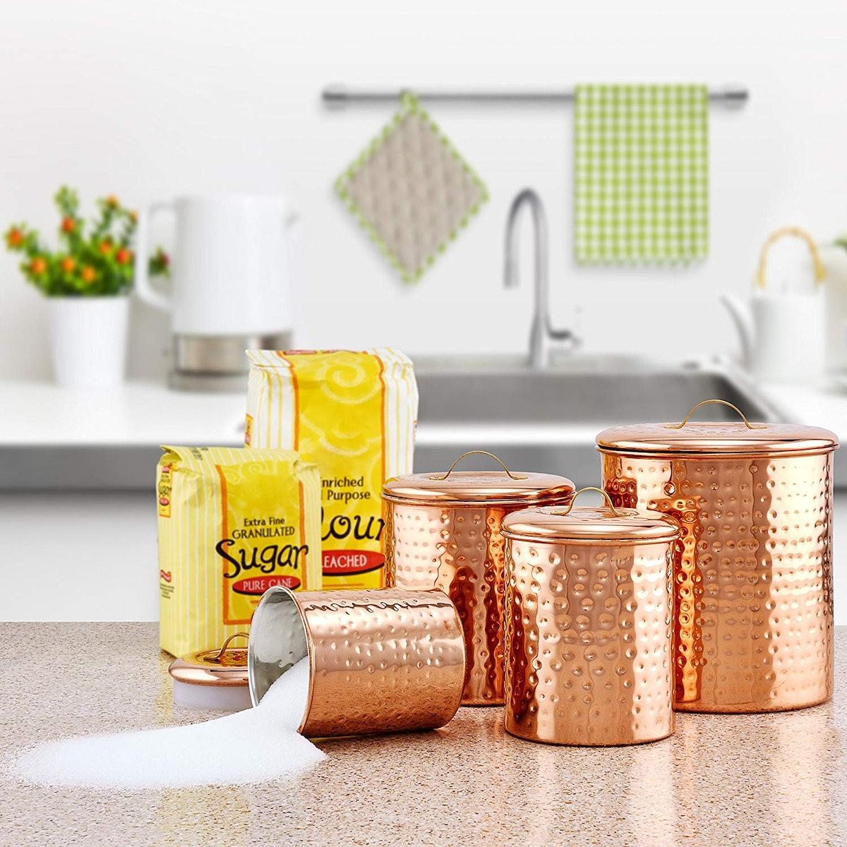 Dutch International Copper Cannisters
