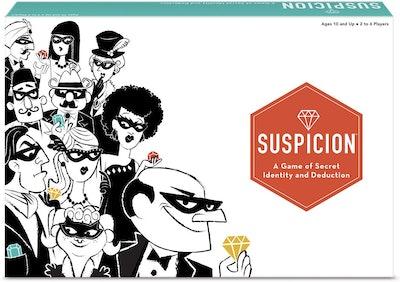 The Wonder Forge Suspicion Family Board Game