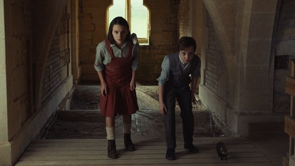 Lyra and Roger race to the crypts in 'His Dark Materials'