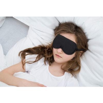 Allwaii Natural Silk Eye Mask