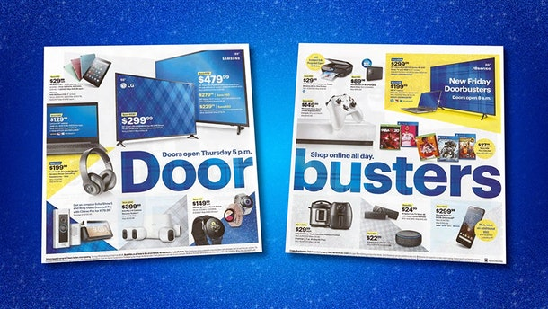Best Buy's Black Friday ad feature so many tech deals.