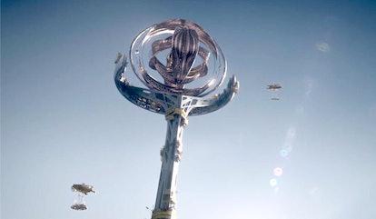 The Millennium Clock in Watchmen