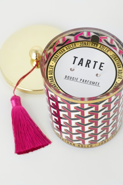 Jonathan Adler x H&M HOME collection includes four bougie candles with decorative tassels