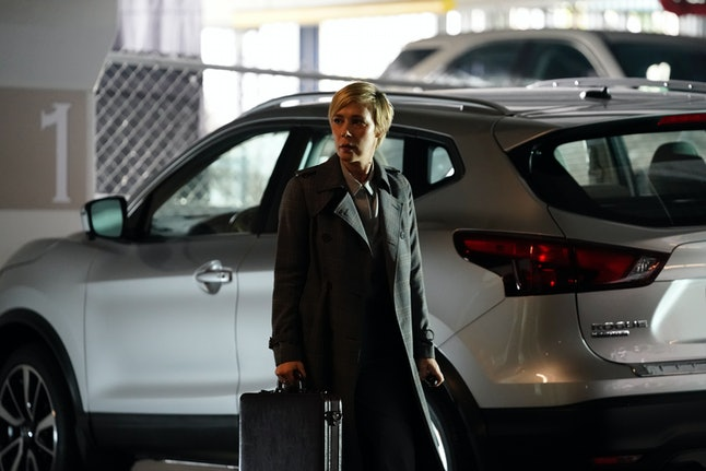 """During the Nov. 7 episode of How to Get Away with Murder, titled """"I'm the Murderer,"""" a supposed Airbnb guest had a file of dirt on Bonnie (Liza Weil)."""