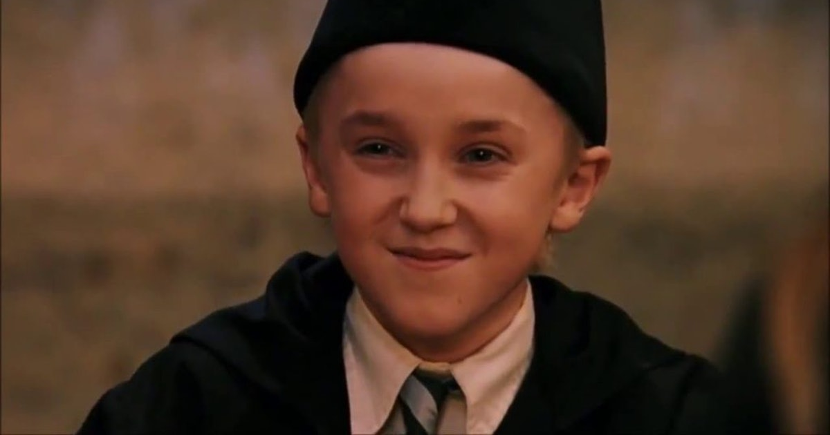 Tom Felton Shared A Picture From His Draco Malfoy Days With A Jokes Caption