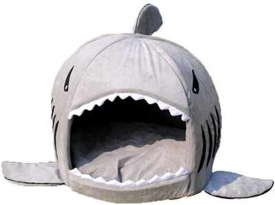 spexpet's Grey Shark Cave Bed