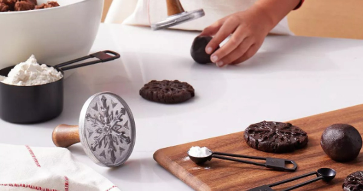 These Hearth & Hand Cookie Stamps Will Make You The Most Efficient Baker