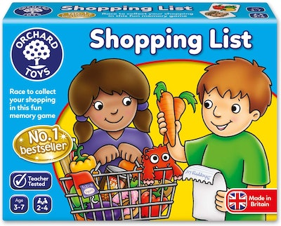 Orchard Toys Shopping List, Children's Game