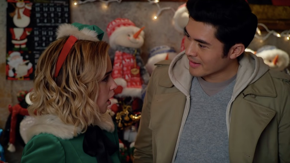 Emilia Clarke and Henry Golding in 'Last Christmas'