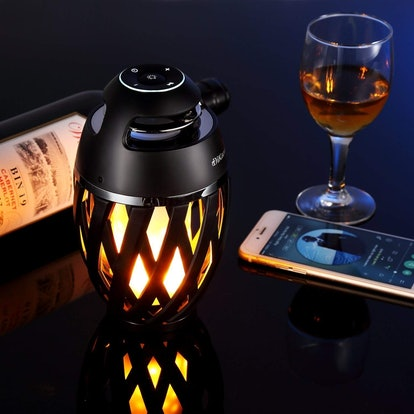 DiKaou Table Lamp with Bluetooth Speaker