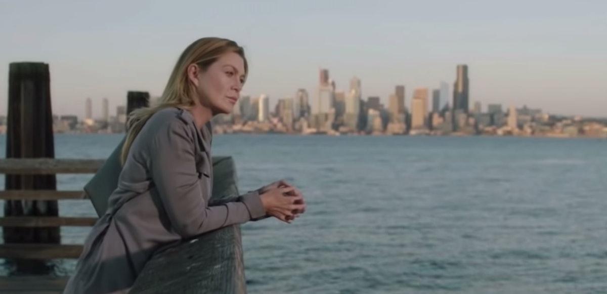 Meredith in the 'Grey's Anatomy' Season 16, Episode 8 promo