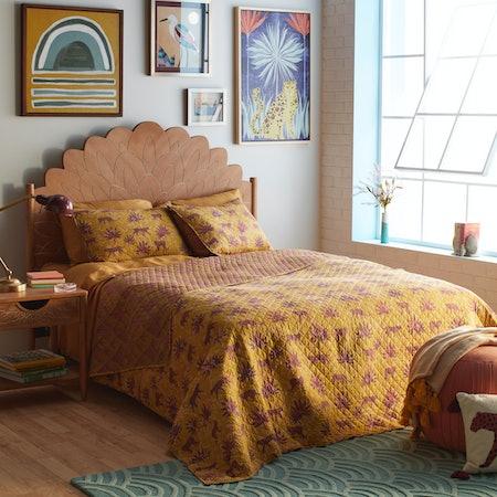 Jungle Leopard Quilt Set
