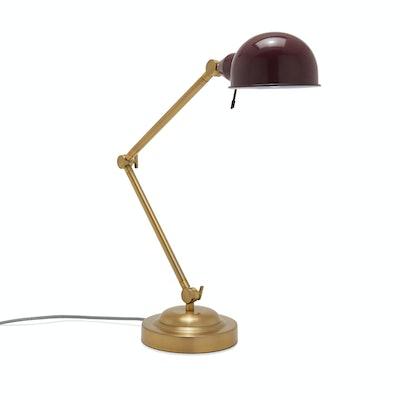 Venetian Wine Adjustable Arm Task Light