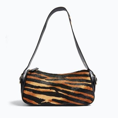 SLICK Tiger Print Shoulder Bag