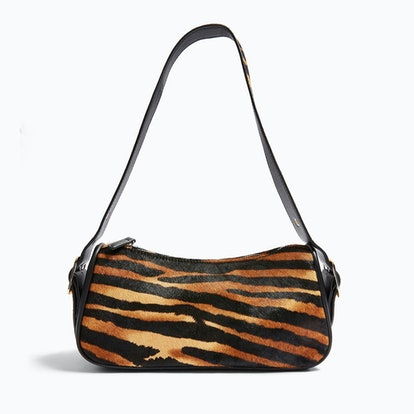 SLICK Tiger Print Shoulder Bag