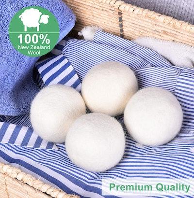SUPA MODERN Wool Dryer Balls (4-Pack)