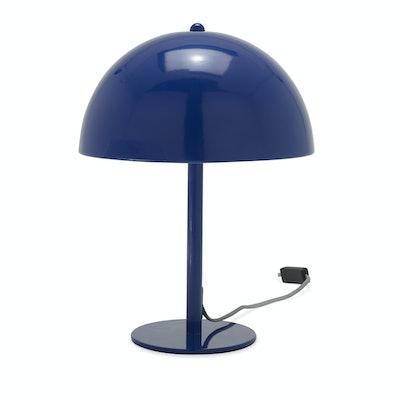 Grecian Blue Retro Table Light