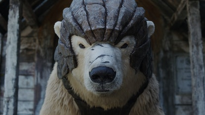 Armored bears don't have daemons in 'His Dark Materials'