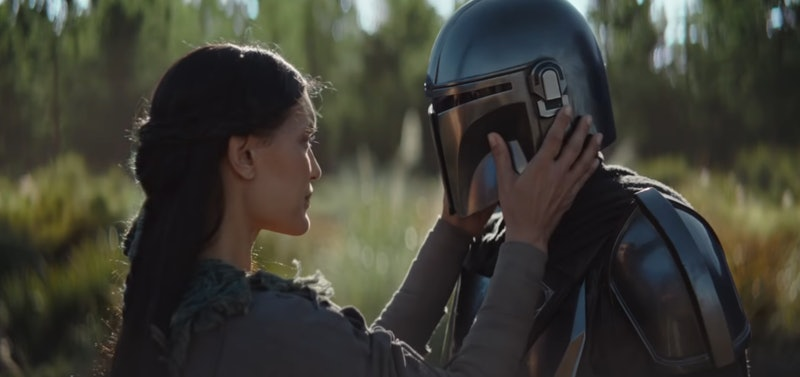 A still from the Disney+ series 'The Mandalorian.'