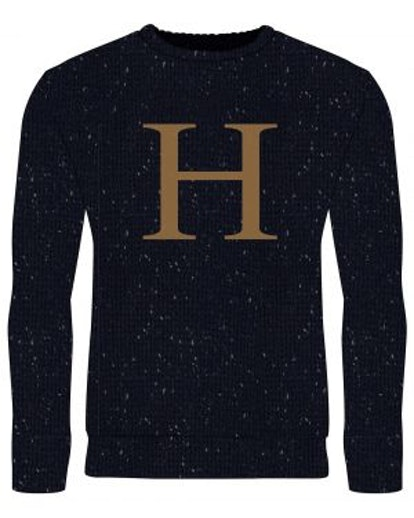 Harry Potter: Part Of The Family 'H' Replica Christmas Sweater