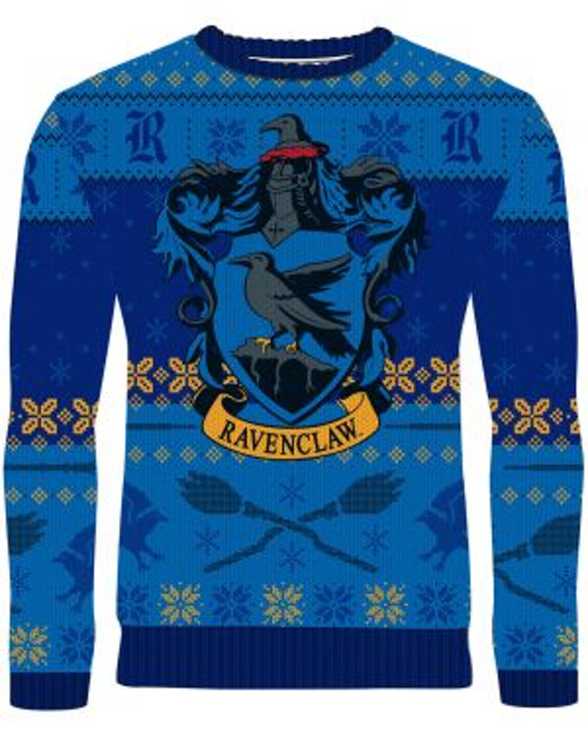 Harry Potter: Rockin' Ravenclaw Knitted Christmas Sweater