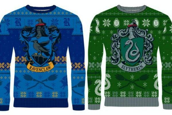 These 'Harry Potter' Ugly Holiday Sweaters From Merchoid  will make your entire Christmas season.