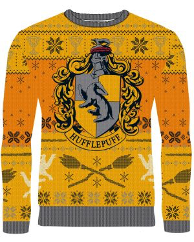 Harry Potter: Ho Ho Hufflepuff Knitted Christmas Sweater
