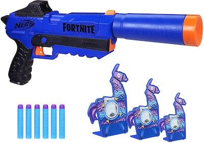 NERF Fortnite Blaster and Llama Targets