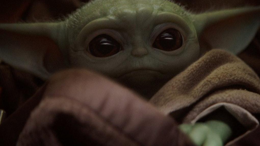 Baby Yoda Frappuccino at Starbucks